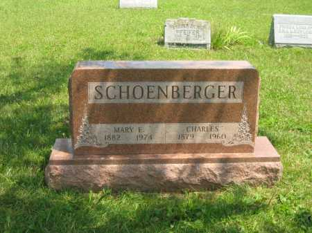SCHOENBERGER, MARY E. - Wyandot County, Ohio | MARY E. SCHOENBERGER - Ohio Gravestone Photos