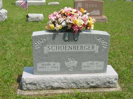 SCHOENBERGER, EARL H. - Wyandot County, Ohio | EARL H. SCHOENBERGER - Ohio Gravestone Photos
