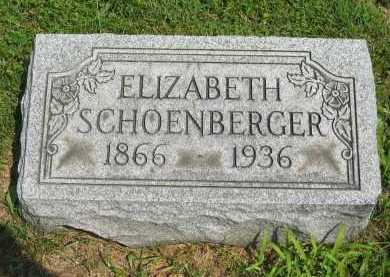 SCHOENBERGERT, ELIZABETH - Wyandot County, Ohio | ELIZABETH SCHOENBERGERT - Ohio Gravestone Photos