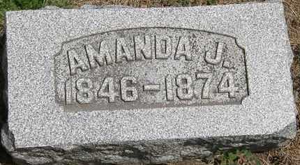 SNYDER, AMANDA J. - Wyandot County, Ohio | AMANDA J. SNYDER - Ohio Gravestone Photos