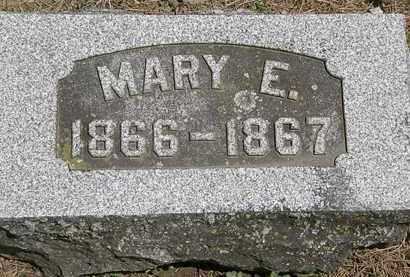 SNYDER, MARY E. - Wyandot County, Ohio   MARY E. SNYDER - Ohio Gravestone Photos