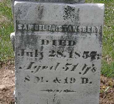 STANSBERY, SAMUEL M. - Wyandot County, Ohio | SAMUEL M. STANSBERY - Ohio Gravestone Photos