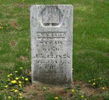 STRAW, DANIEL - Wyandot County, Ohio | DANIEL STRAW - Ohio Gravestone Photos