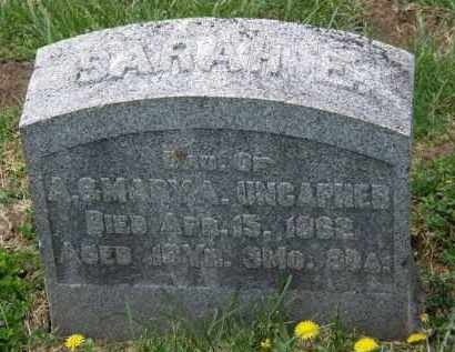 UNCAPHER, SARAH E. - Wyandot County, Ohio | SARAH E. UNCAPHER - Ohio Gravestone Photos