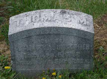 UNCAPHER, THOMAS M. - Wyandot County, Ohio | THOMAS M. UNCAPHER - Ohio Gravestone Photos