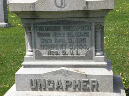 UNCAPHER, THEODORE - Wyandot County, Ohio | THEODORE UNCAPHER - Ohio Gravestone Photos