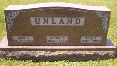 UNLAND, JACK LEROY - Wyandot County, Ohio | JACK LEROY UNLAND - Ohio Gravestone Photos