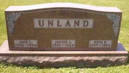 MOSER UNLAND, REVA R - Wyandot County, Ohio | REVA R MOSER UNLAND - Ohio Gravestone Photos