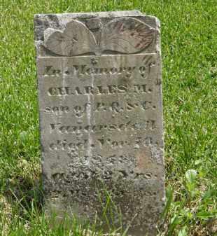 VANARSDALL, CHARLES M. - Wyandot County, Ohio | CHARLES M. VANARSDALL - Ohio Gravestone Photos