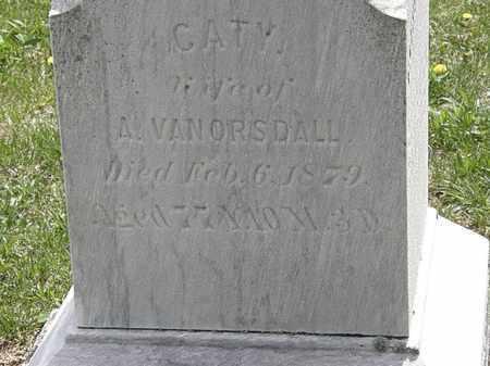 VANORSDALL, CATY - Wyandot County, Ohio | CATY VANORSDALL - Ohio Gravestone Photos