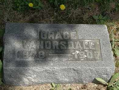 VANORSDALL, GRACE - Wyandot County, Ohio | GRACE VANORSDALL - Ohio Gravestone Photos