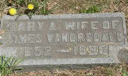 VANORSDALL, JAMES - Wyandot County, Ohio | JAMES VANORSDALL - Ohio Gravestone Photos