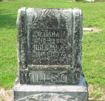 WILLSON, ELISHA - Wyandot County, Ohio | ELISHA WILLSON - Ohio Gravestone Photos