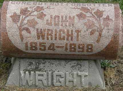 WRIGHT, JOHN - Wyandot County, Ohio | JOHN WRIGHT - Ohio Gravestone Photos